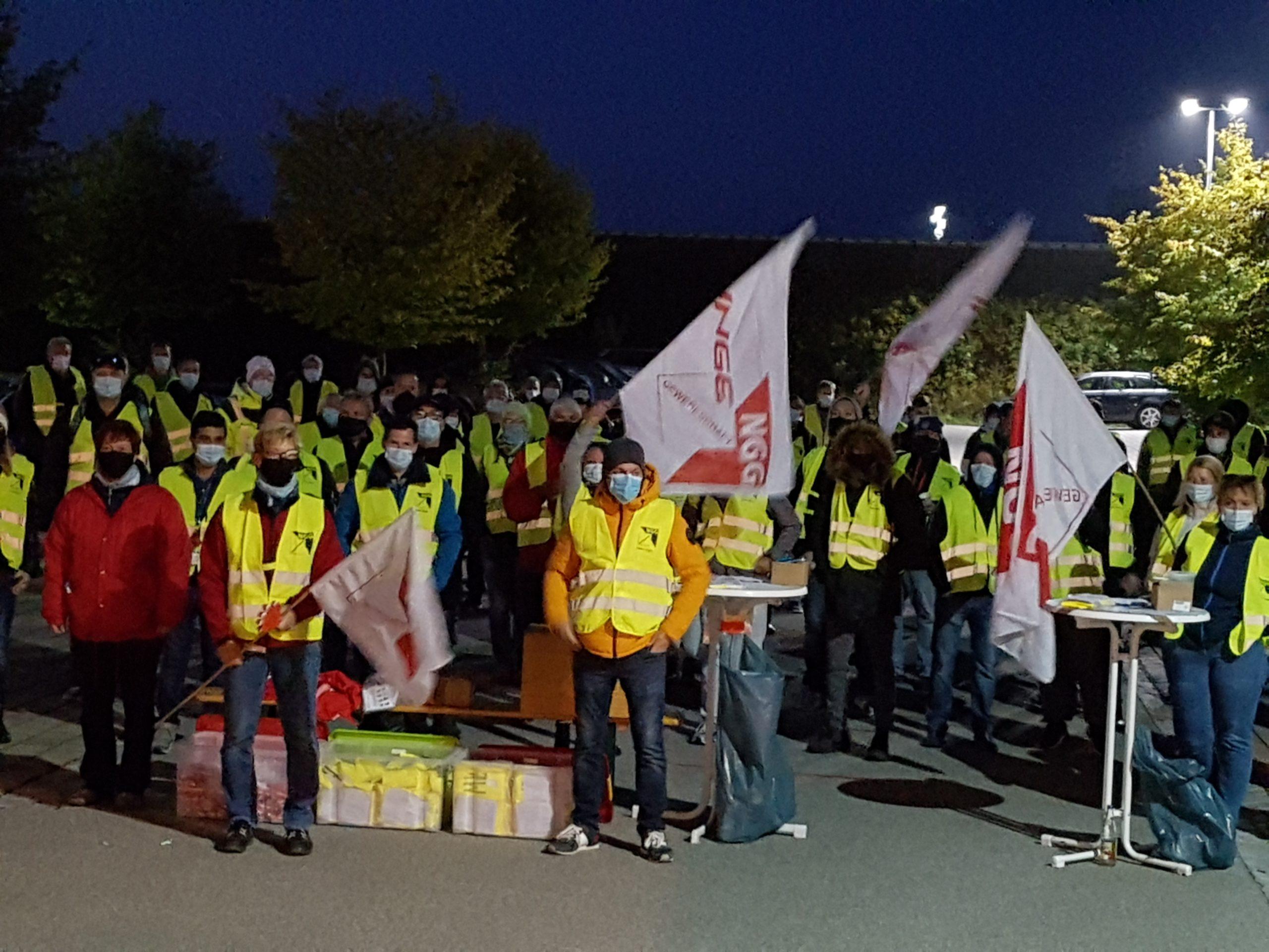 Pressemitteilung zu den Warnstreiks in der bayerischen Milchwirtschaft