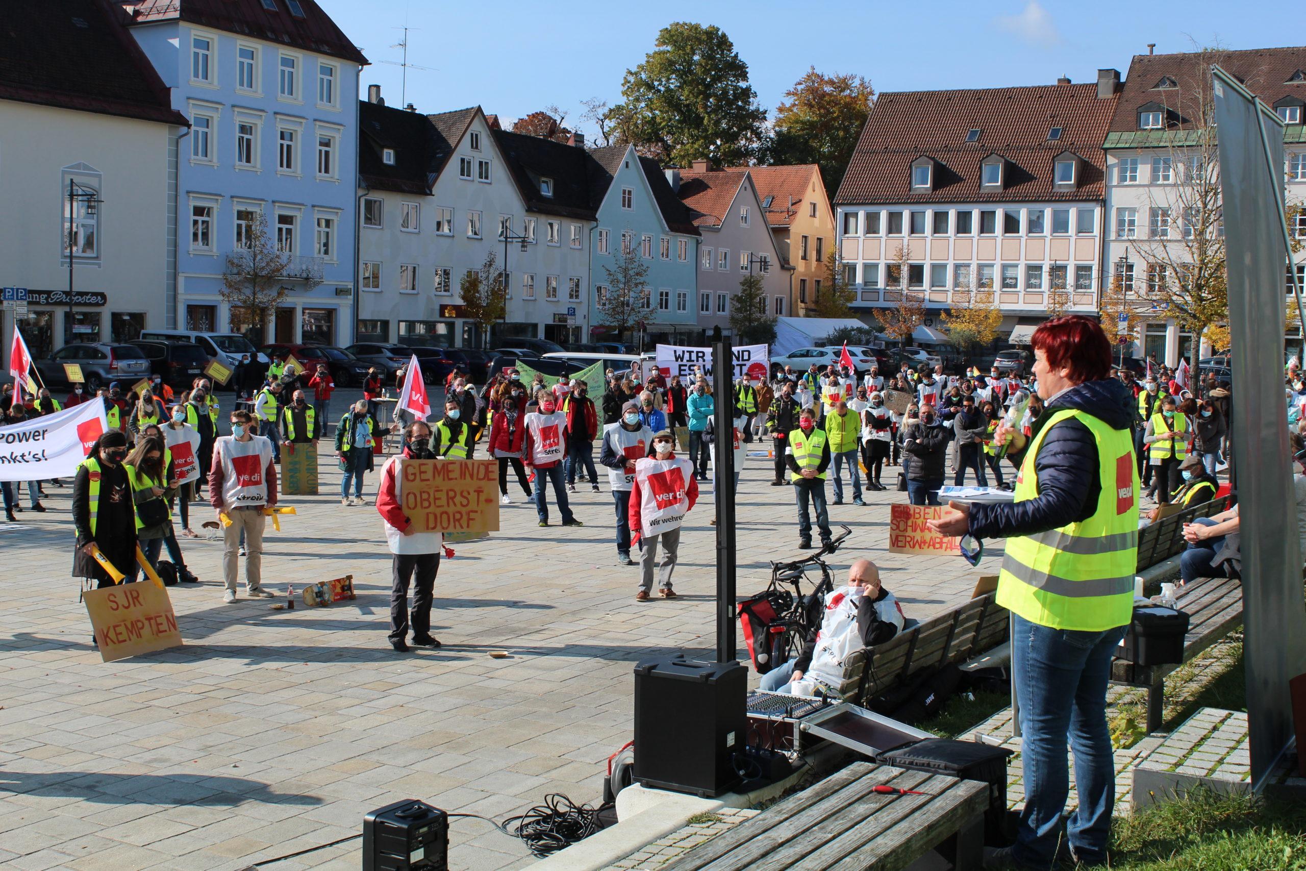 Solidarität mit den Streikenden im öffentlichen Dienst