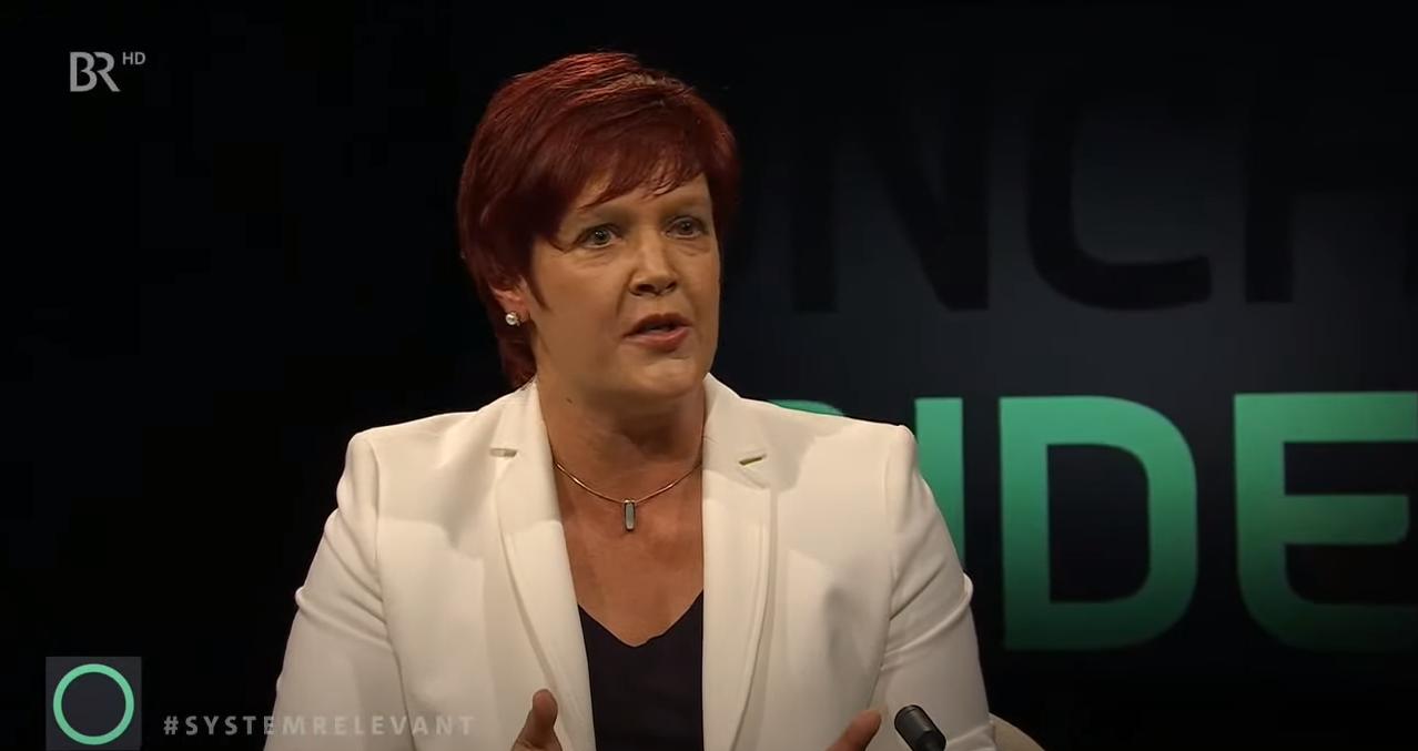 Susanne Ferschl zu Gast in der Münchner Runde
